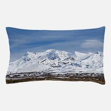 Rangipo Desert and Mt Ruapehu, Central Pillow Case