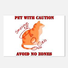 Cute Orange cat Postcards (Package of 8)