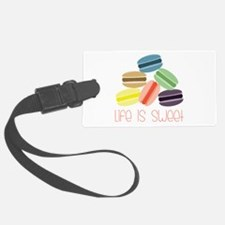 Life is Sweet Luggage Tag