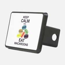 Keep Calm Eat Macaroons Hitch Cover