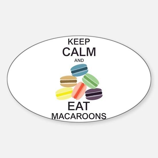 Keep Calm Eat Macaroons Decal