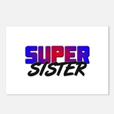 SUPER SISTER Postcards (Package of 8)