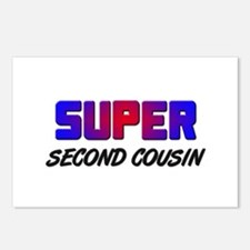 SUPER SECOND COUSIN Postcards (Package of 8)