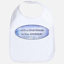 GOD IS EVERYWHERE Bib