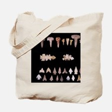 Spear points and drills used as hole punc Tote Bag