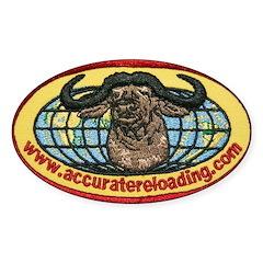 AR Logo Oval Decal