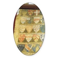 The Dering Roll of Arms, 15th cent. Decal