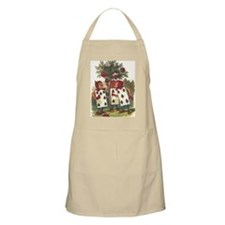 Alice in Wonderland - Painting the Roses Red Apron