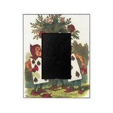Alice in Wonderland - Painting the R Picture Frame
