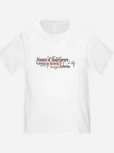 Women of Shakespeare T-Shirt