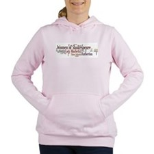 Cool Shakespeare Women's Hooded Sweatshirt