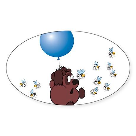 Vinni Rasha 2 Oval Sticker