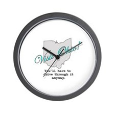 Visit Ohio! You'll Have to Dr Wall Clock