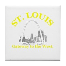 St. Louis . . . Gateway to th Tile Coaster