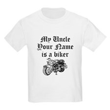 My Uncle Is A Biker (Custom) T-Shirt