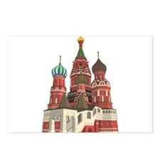 St. Basil Postcards (Package of 8)