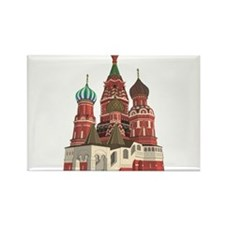 St. Basil Rectangle Magnet