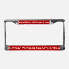 Howlin' Prowler License Plate Frame