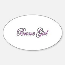 Bronx Girl Oval Decal