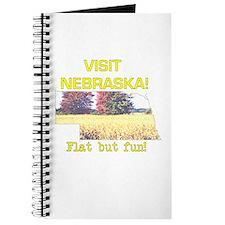 Visit Nebraska . . . Flat But Journal