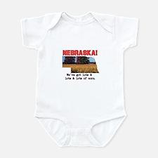Nebraska . . . We've Got Lots Infant Bodysuit