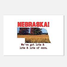 Nebraska . . . We've Got Lots Postcards (Package o