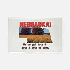 Nebraska . . . We've Got Lots Rectangle Magnet