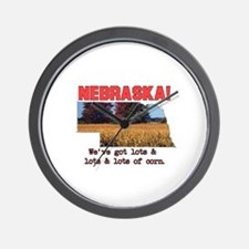 Nebraska . . . We've Got Lots Wall Clock