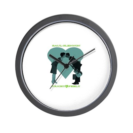 """""""Touchy/Feely"""" Wall Clock"""