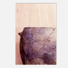 Prehistoric. Stoneage pot Postcards (Package of 8)