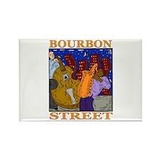 Bourbon Street Rectangle Magnet