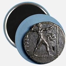 Greece. Slinger. Greek. Coin of Pamphylia A Magnet