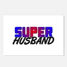 SUPER HUSBAND Postcards (Package of 8)