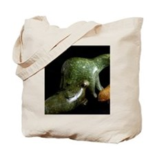 Walrus & whale. rt. Typical Inuit Tote Bag
