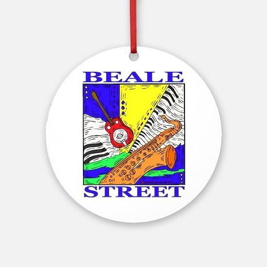Beale Street Ornament (Round)
