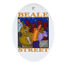 Beale Street Oval Ornament
