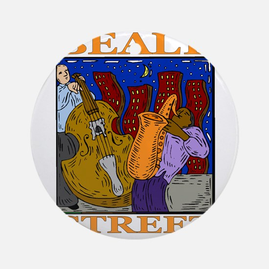 Beale Street Ornament (Round)