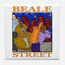 Beale Street Tile Coaster