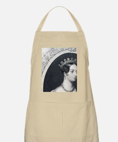 Queen Victoria as a young woman. Reigned 183 Apron