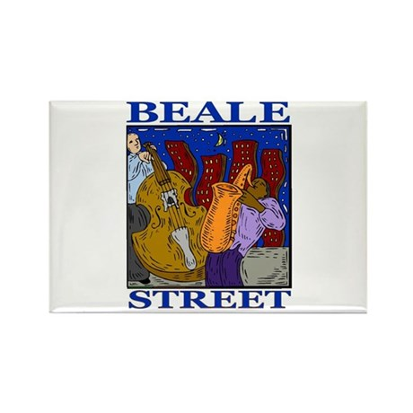 Beale Street Rectangle Magnet (10 pack)