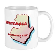 Guatemala Map Mug