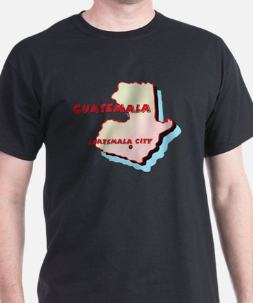 Guatemala Map T-Shirt