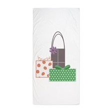 Gift Boxes Beach Towel
