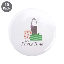 "Its Dance time 3.5"" Button (10 pack)"