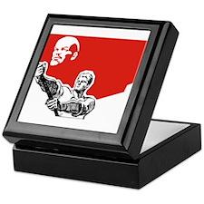 Lenin Plakat Keepsake Box