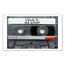 Rectangle Sticker cassette