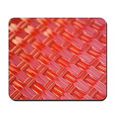 Dubrovnik. Close-up of woven plastic cha Mousepad