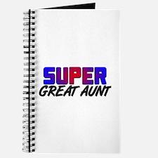 SUPER GREAT AUNT Journal
