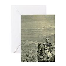 Robert the Bruce before Bannockburn, Greeting Card