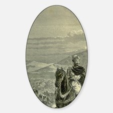 Robert the Bruce before Bannockburn Sticker (Oval)